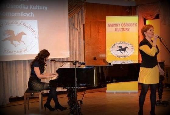 """1.X.2013 Kompozycja """"40 lat"""" Marty Torebko otwiera sezon artystyczny w Gminnym Ośrodku Kultury w Komornikach"""