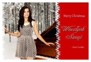 Zdrowych Spokojnych Świąt życzy Marta Torebko